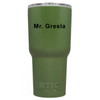 RTIC CG Promotionals on Army Green 30oz Tumbler