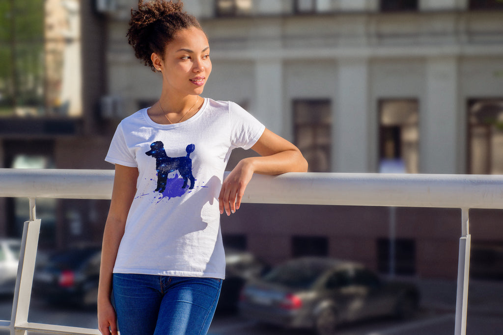 Poodles are born Stars! Short-Sleeve Unisex T-Shirt