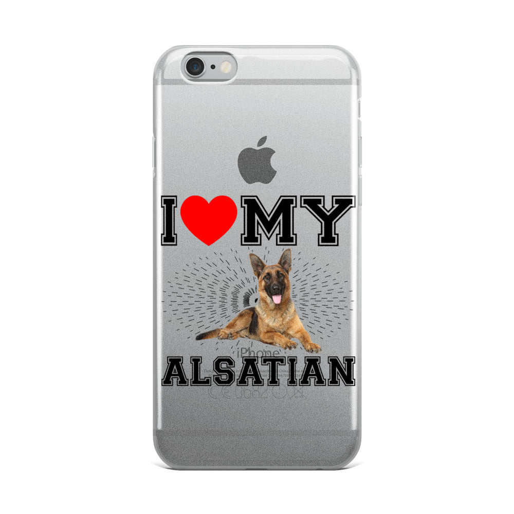 Alsatian iPhone Case