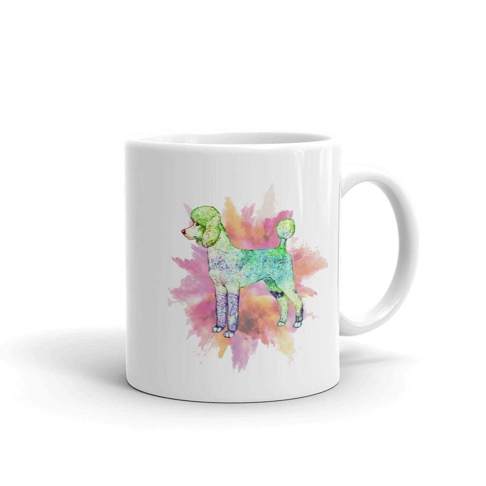 Poodle Color Mug