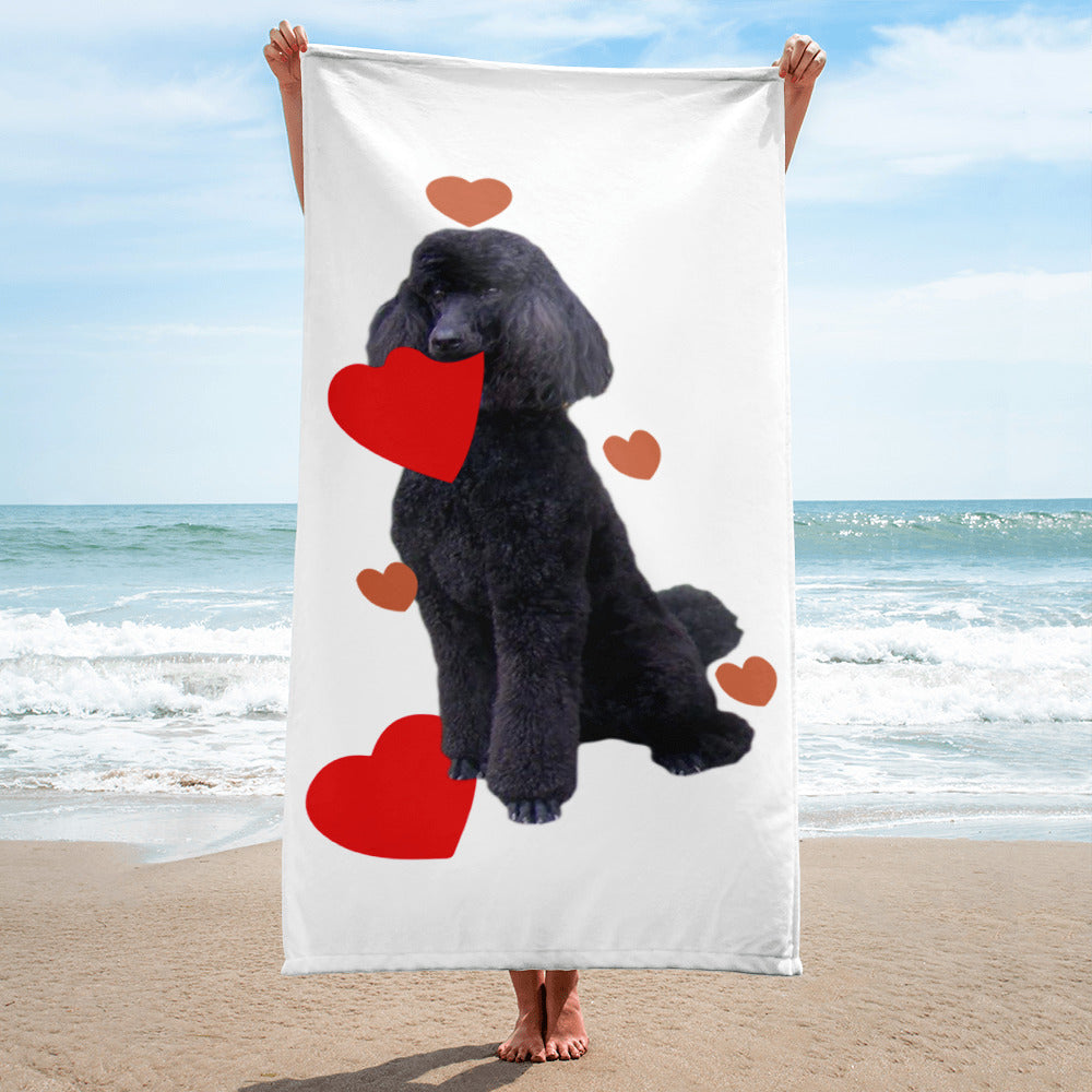 Heart Towel