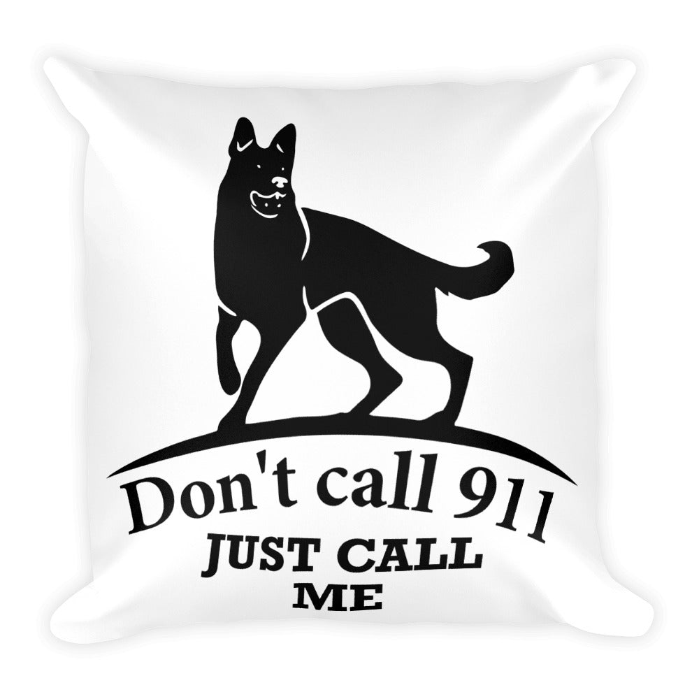 911 Square Pillow