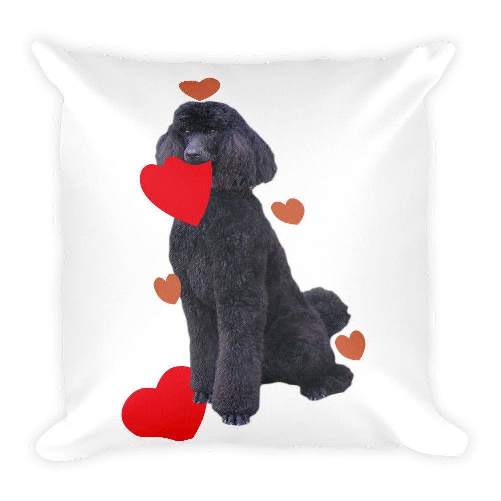 Heart Square Pillow