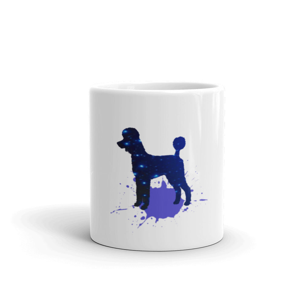 Poodles are born stars! Mug