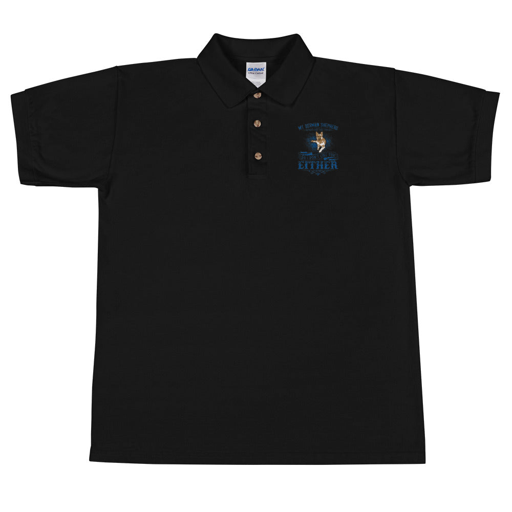 IF Embroidered Polo Shirt