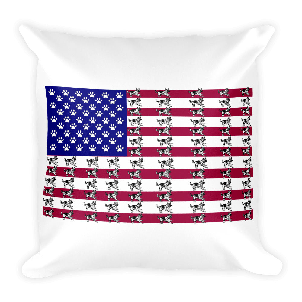 Flag Square Pillow