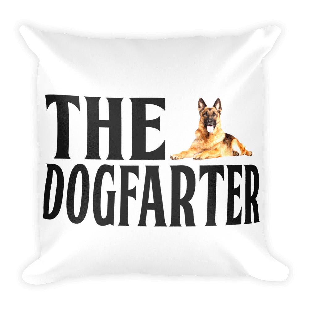Dog Square Pillow