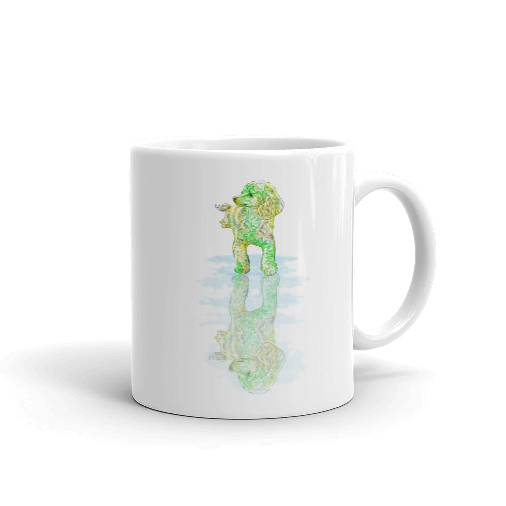 Poodle Reflection Mug