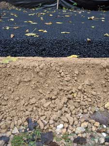 photo of asphalt on top of gravel
