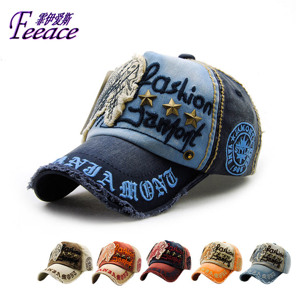 Sports Capbaseball Caphat Embroidery Letterssun Hat Cotton