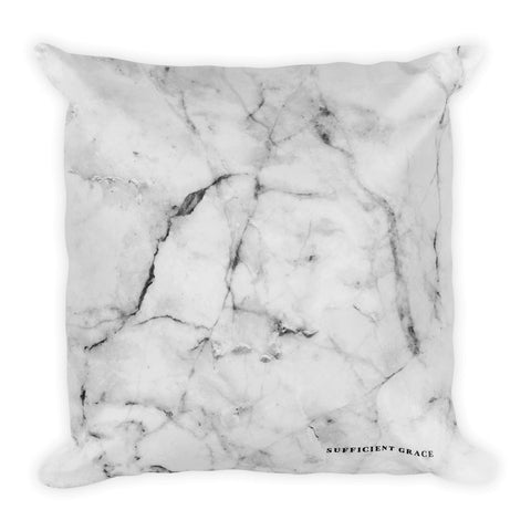 Sufficient Grace - Square Pillow