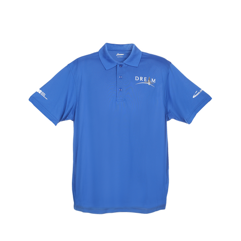 Men's Dream Chaser Polo Shirt in Blue