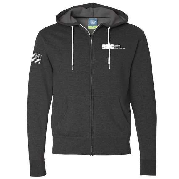 SNC Zip-Up Hooded Sweatshirt
