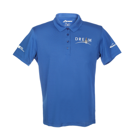 Women's Dream Chaser Polo Shirt in Blue
