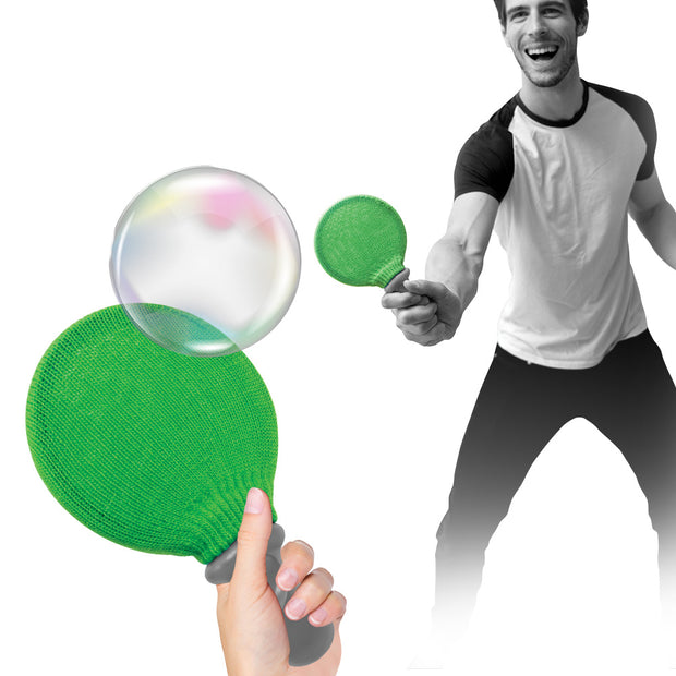 Soap Bubble Tennis Game