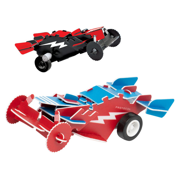 Desk Racers™ 3D Wind-Up Puzzles (2 puzzles)