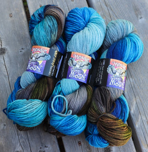 Dryad Organic Worsted - Remus Lupin Colorway