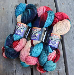 Dryad Organic Worsted - Ice Pop Colorway
