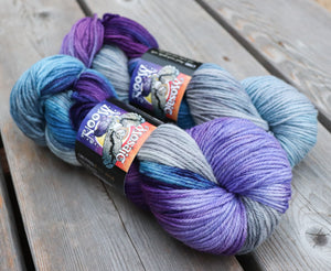 Dryad Organic Worsted - Midwinter's Frost Colorway