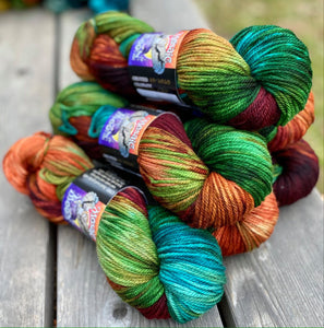 Juniper DK - Celtic Cat Colorway