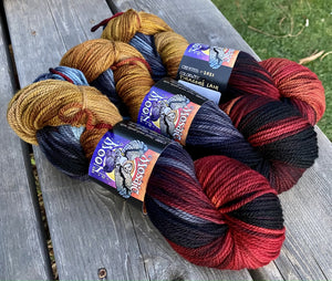 Juniper DK - Dragon's Lair  Colorway