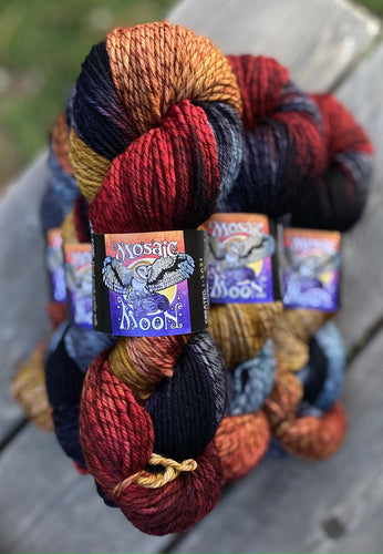Tartan Worsted - Dragon's Lair Colorway