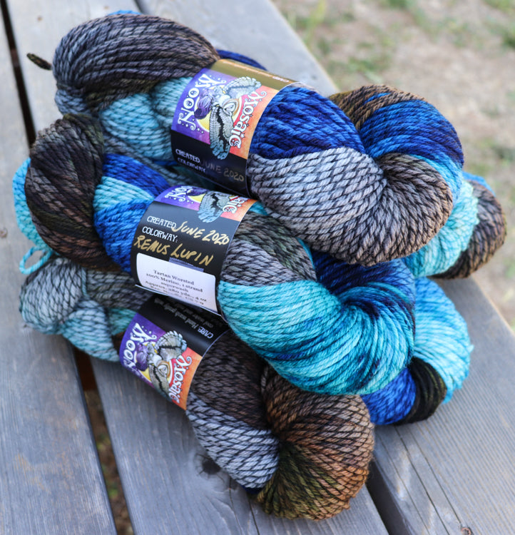 Tartan Worsted - Remus Lupin Colorway