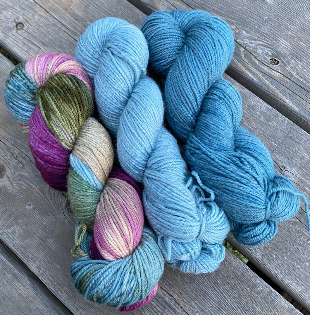 Dryad Organic Worsted - March Girls