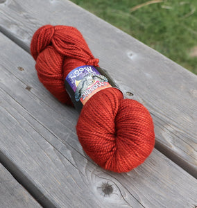 Talisman Worsted - Burnt Orange Semisolid