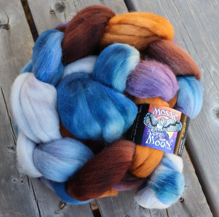 Dryad Roving - Rowena Ravenclaw Colorway