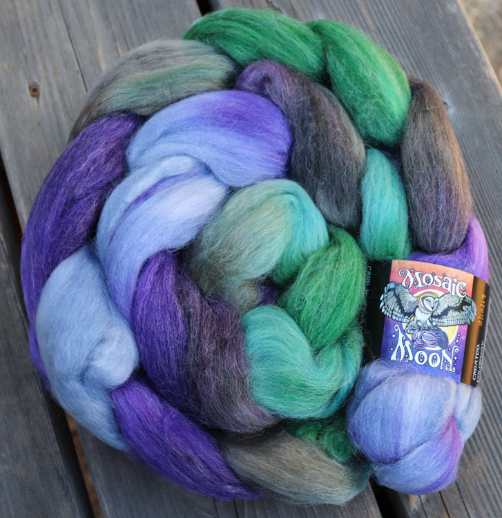Vervain Roving - Wind in the Willows Colorway
