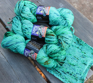 Laurel Nylon Fingering - Patina Sprinkle Dye