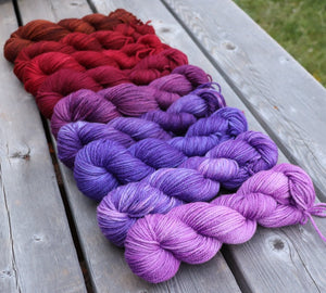 Rowan DK - Autumn Fire Gradient Set, 2 oz skeins