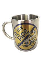 Off the Pipe 10oz Stainless Steel Mug