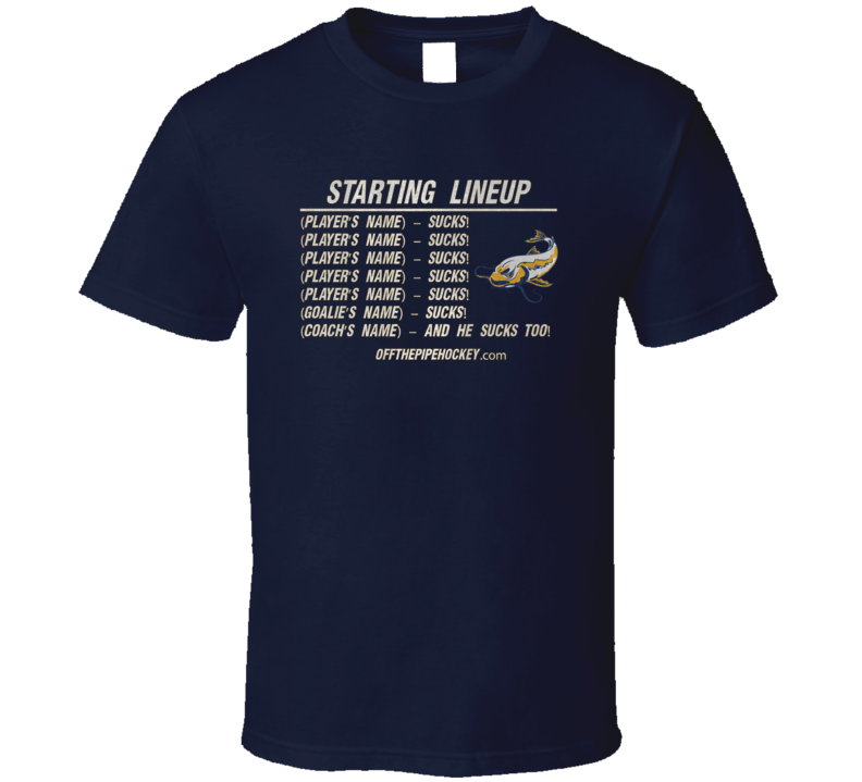 Starting Lineup Navy T Shirt