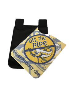 Off the Pipe Phone Caddy