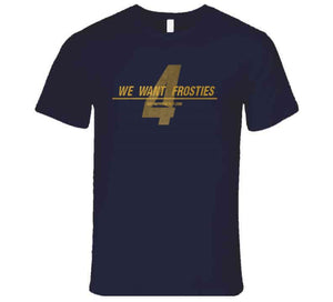 We Want Frosties Navy T Shirt
