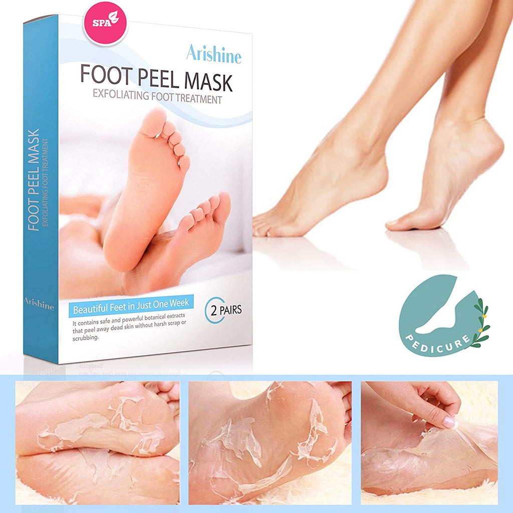 Arishine Exfoliating Foot Peel Mask, Soft & Smooth Feet