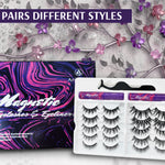 Arishine 3D 5D Magnetic Eyelashes Kit - Best Eye Makeup Kit