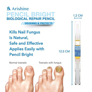 4Pcs Arishine Toenail Fungus Treatment - Anti-Fungal Nail Solution