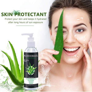 8.5oz Organic Aloe Vera Gel For Smooth and Silky Skin Beauty