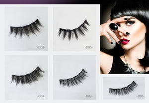 Arishine 3D 5D Magnetic Eyelashes Kit Magnetic Eyeliner For Use with Magnetic False Lashes Natural Look-No Glue Needed