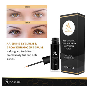 Arishine Professional Eyelash & Brow Enhancing Serum (3 ml)