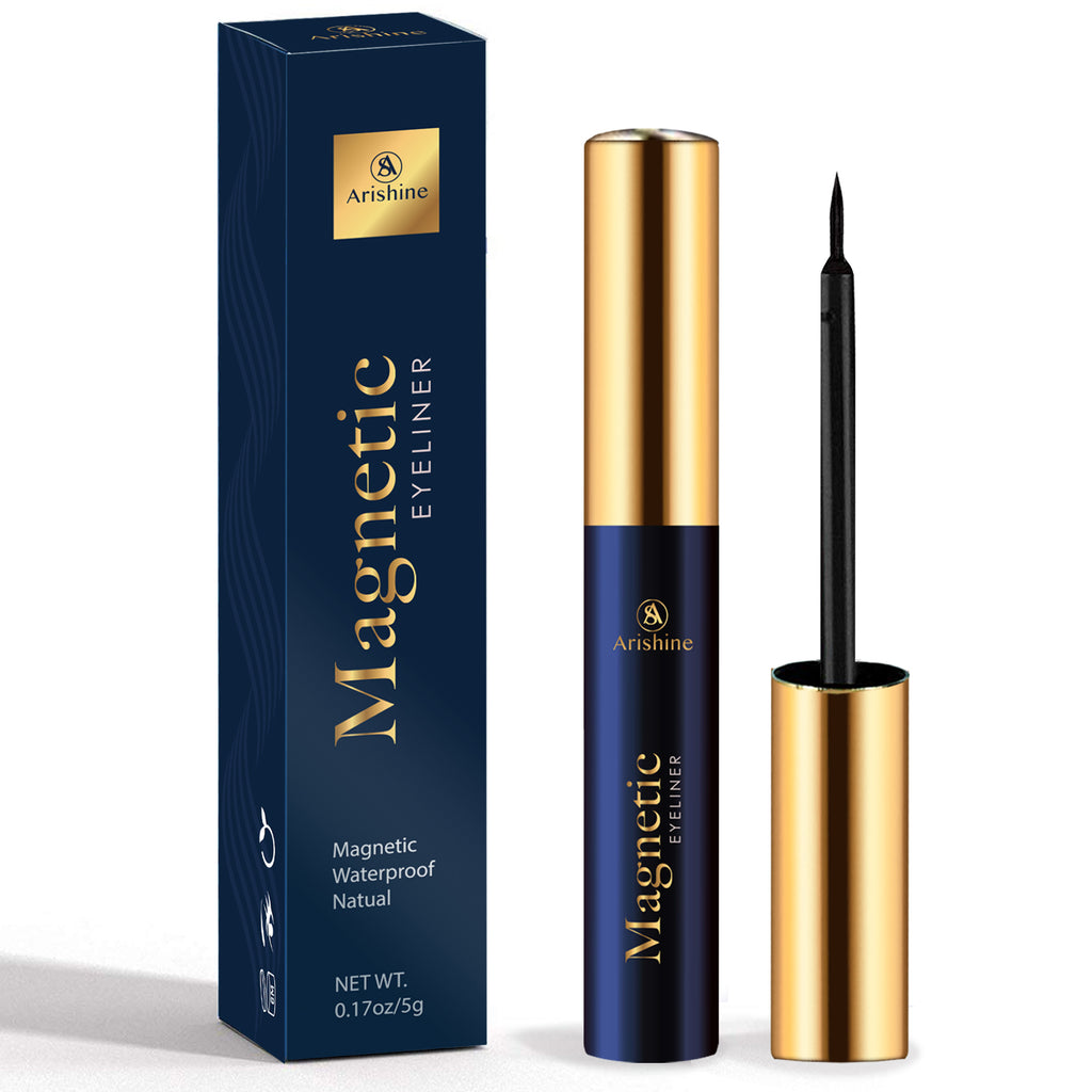 Arishine Magnetic Eyeliner, Natural Look,Waterproof and Smudge Resistant