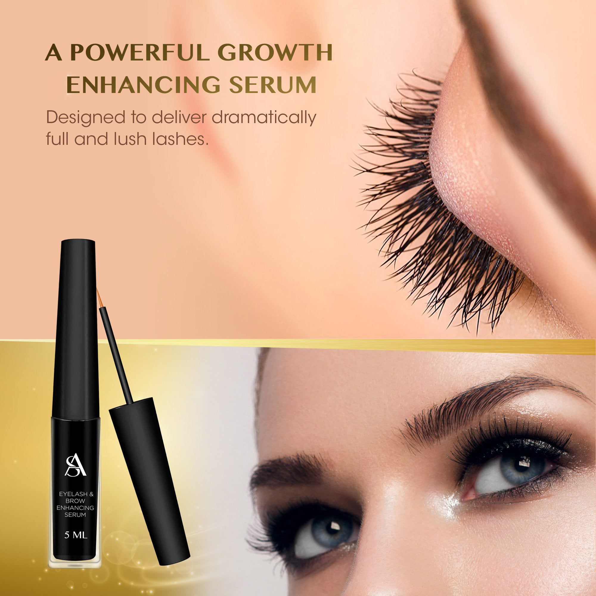 Arishine Professional Eyelash & Brow Enhancing Serum Online