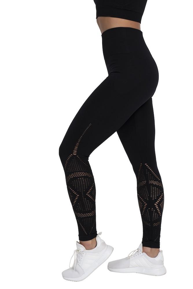 Adonis Gear Align Seamless Full Length Tights - Black