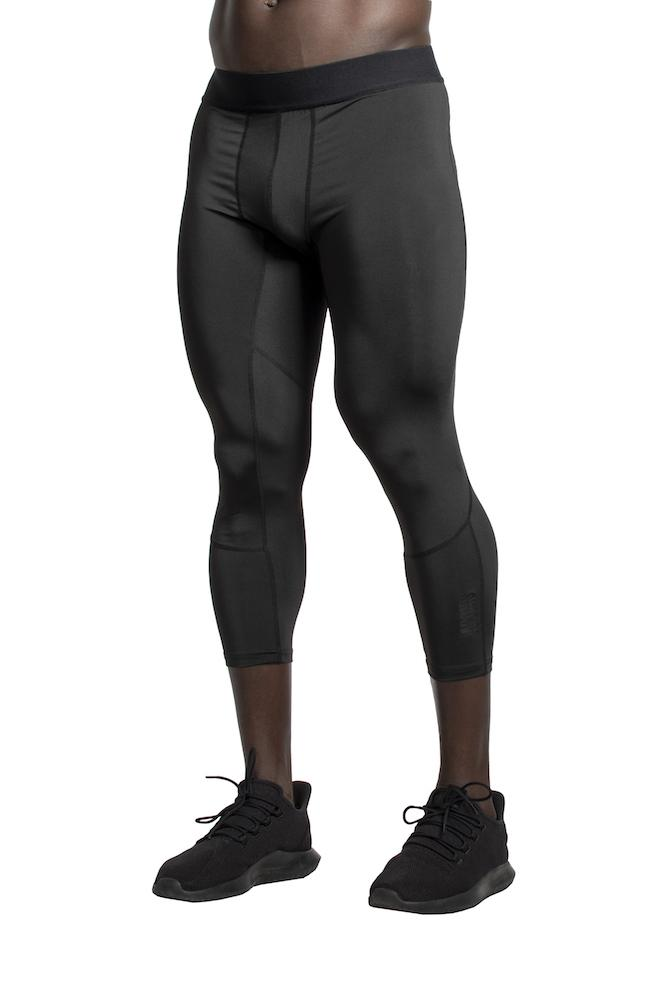 Adonis Gear Combat 7/8 Training Tights - Black