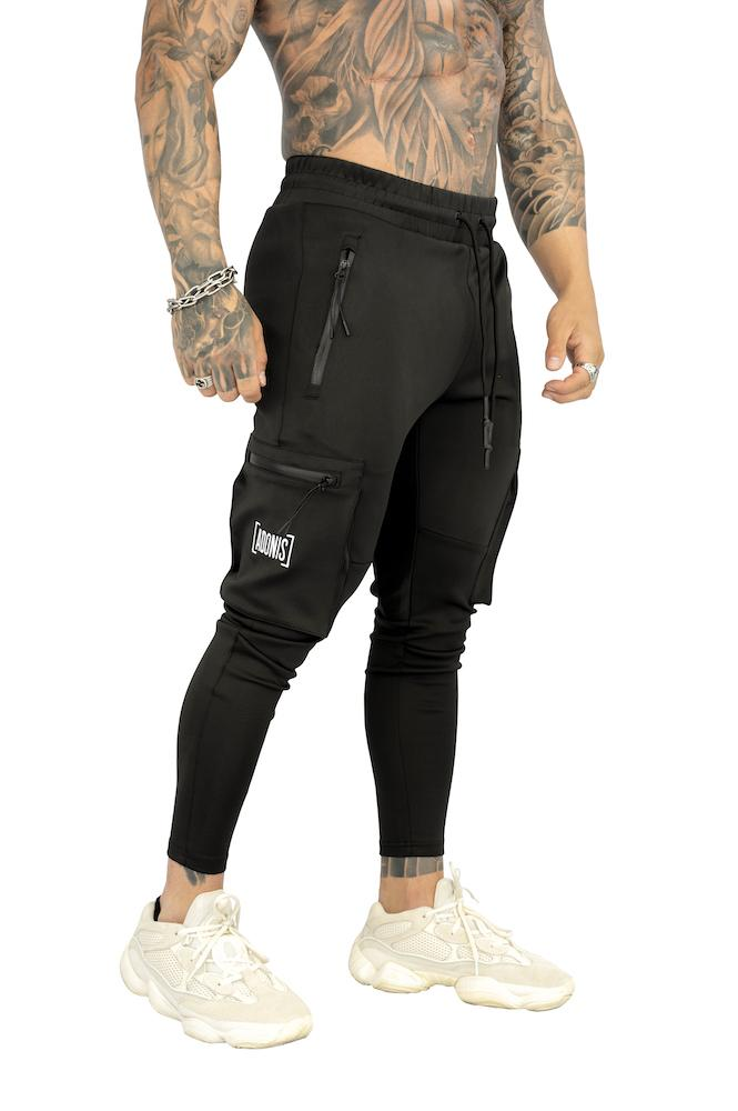 Adonis Gear Envy 2.0 Track Pants - Black