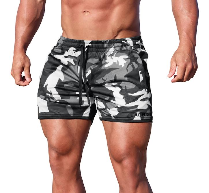 Adonis Gear Envy Shorts - Grey Camo