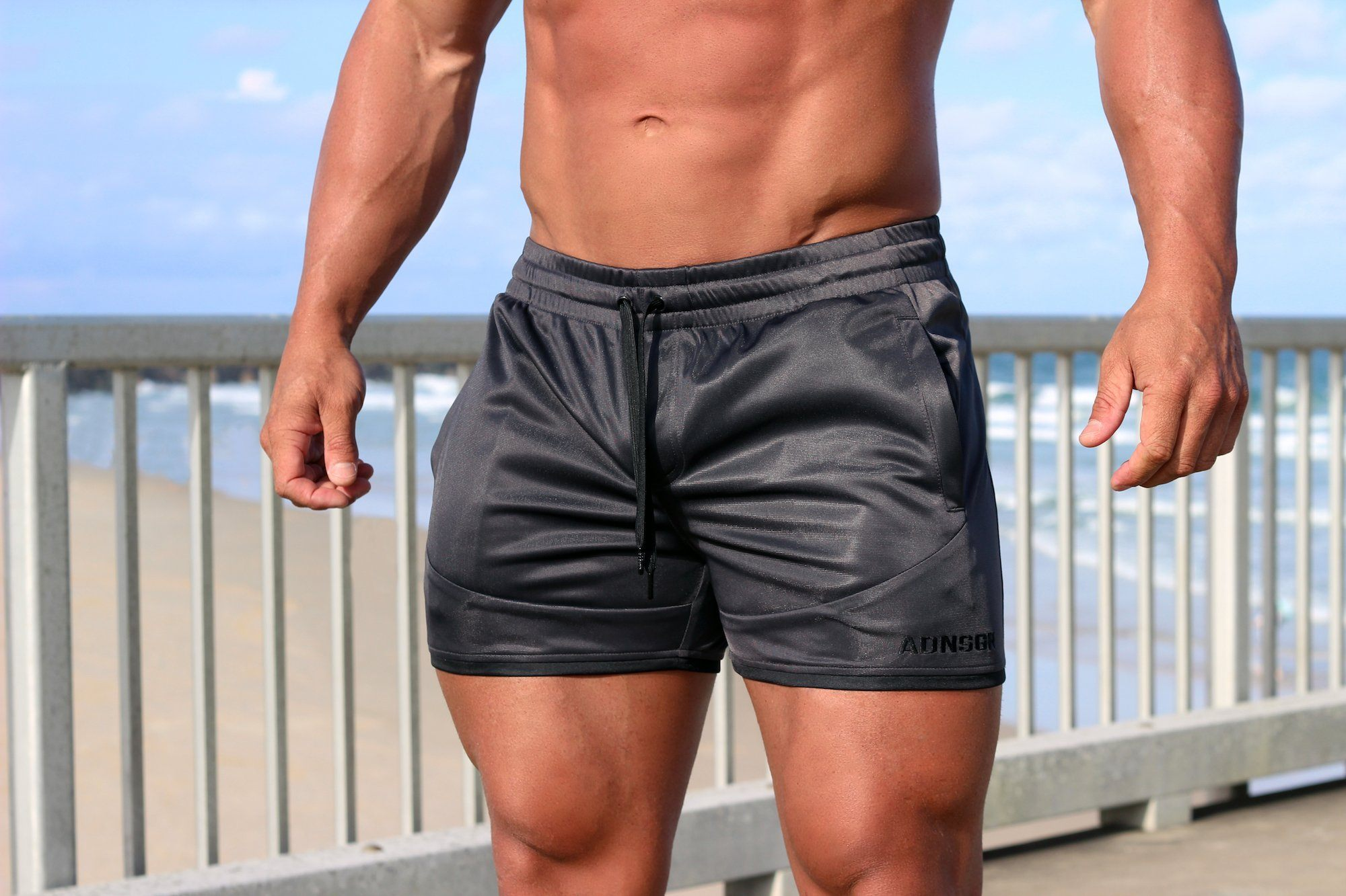 Adonis Gear Envy Shorts - Gun Metal
